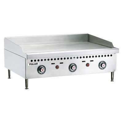 """Vulcan VCRG36-T Griddle, 36"""", Thermostatic Controls"""