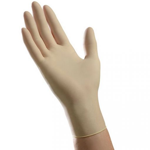 Ambitex GLVLLG5201 Disposable Latex Gloves, LG