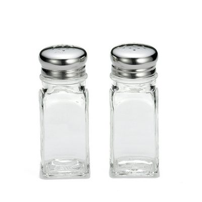 Tablecraft C154-12 Salt/Pepper Shaker, 2 oz., Square