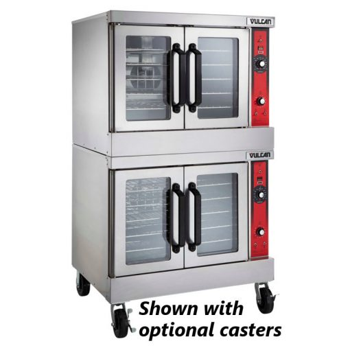 Vulcan VC55GD Double Deck Gas Convection Oven