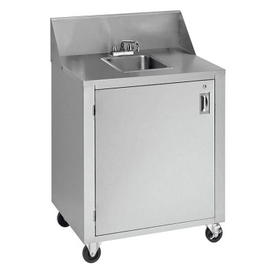 Crown Verity CV-PHS-4C Outdoor Hand Sink, Space Saver, Cold Water Only